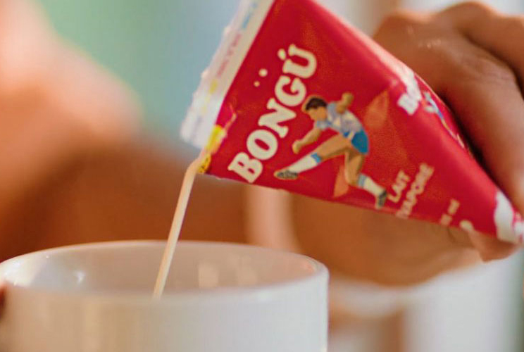 BONGU Evaporated Milk